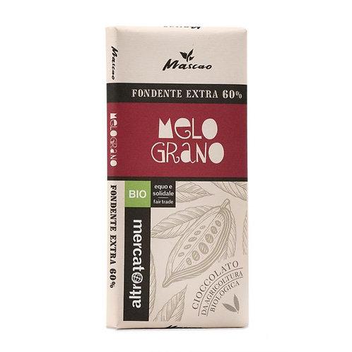 Extra Dark Mascao Chocolate with Pomegranate 80g Altromercato