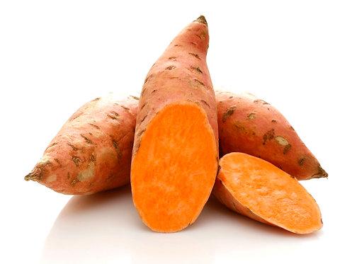 Potatoes Sweet Red Demeter per Kg