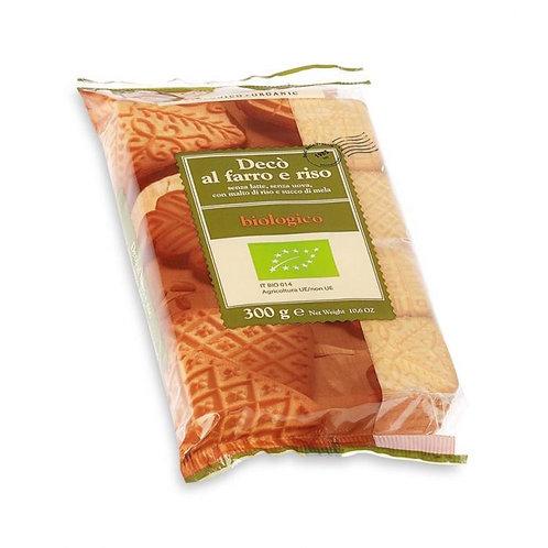 Spelt & Rice Biscuits 300g