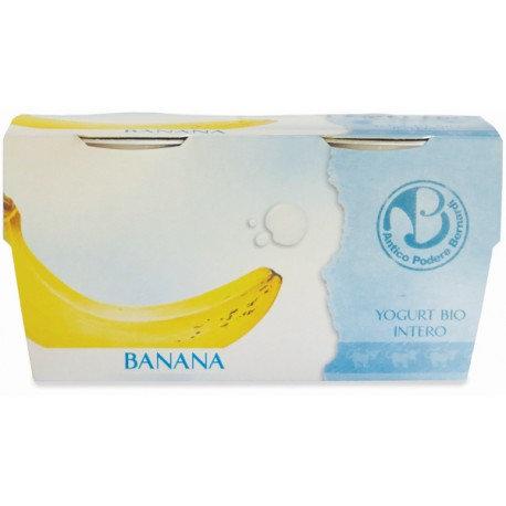 Banana Yoghurt 2x125g Antico Podere Bernardi