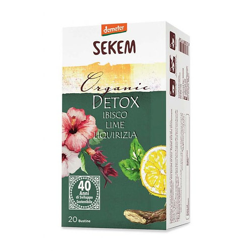Detox Infusion with Hibiscus, Lime & Licorice in Bags 30g
