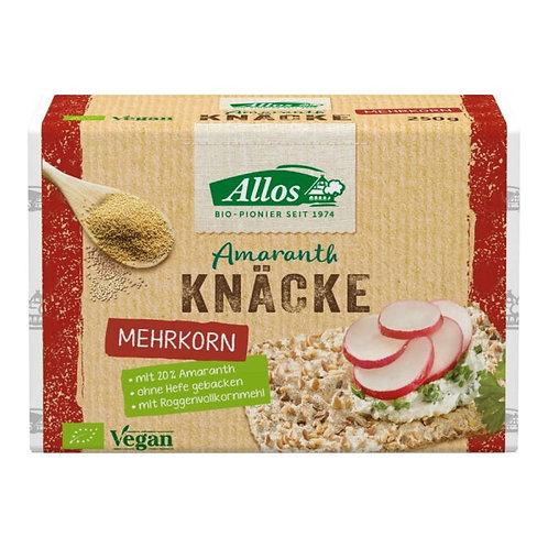 Amaranth Multi-Grain Crispbread Allos 250g