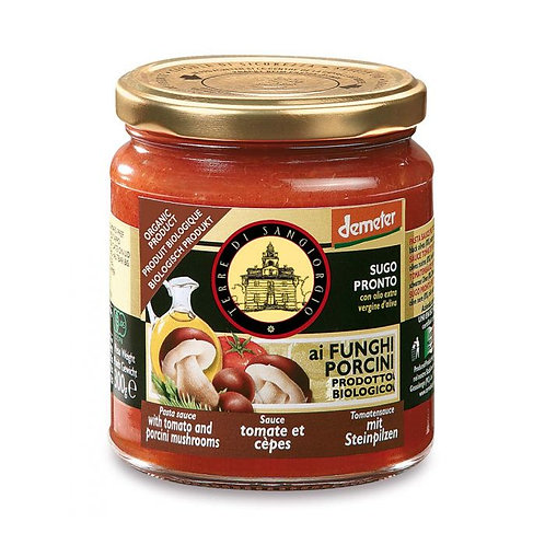 Tomato Sauce with Porcini Mushrooms 300g