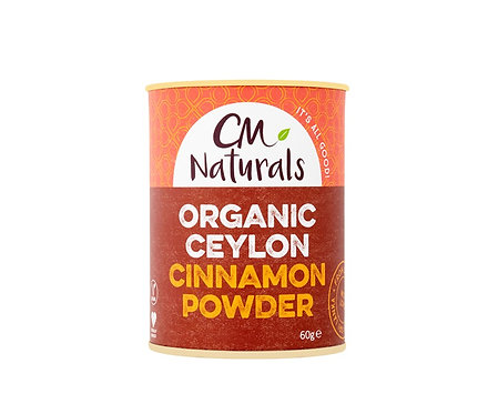 Ceylon Cinnamon Powder 60g CM Naturals