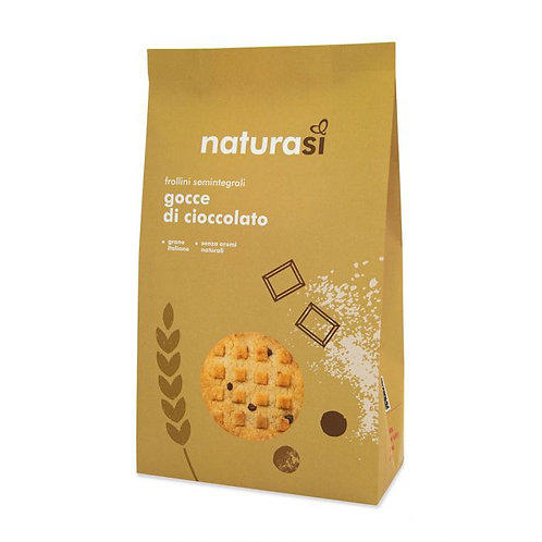 Semi-Wholemeal Wheat Biscuits with Chocolate Chips 350g