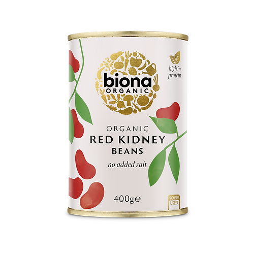 Canned Red Kidney Beans 400g Biona