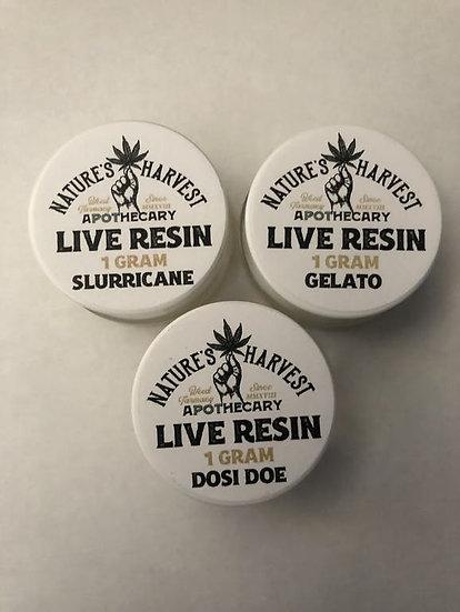 Nature's Harvest Live Rosin/Resin (1g)