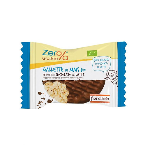 Milk Chocolate Covered Corn Cakes 32g Fior di Loto