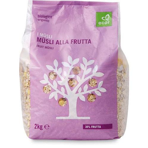 Fruit Muesli Ecor 2kg