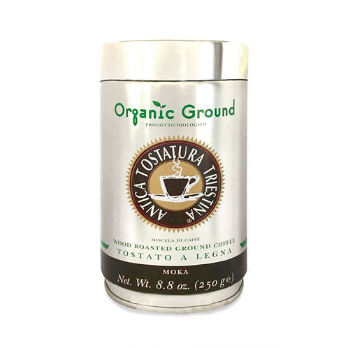 Wood Roasted Ground Coffee for Moka 250g