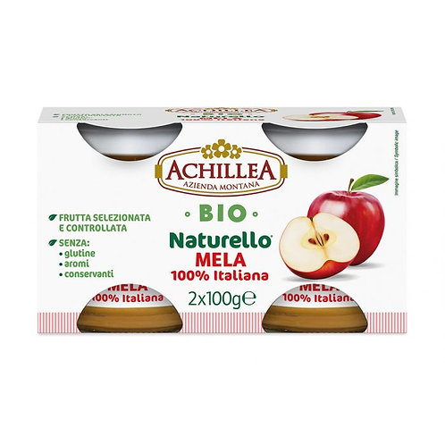 Gluten-Free Apple Puree 2x100g Achillea