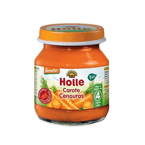 Homogenized Carrot Puree Gluten-Free 125g Holle