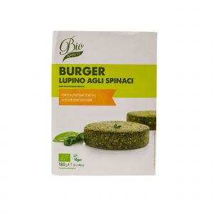 Lupin Burger with Spinach 180g Bio Appeti