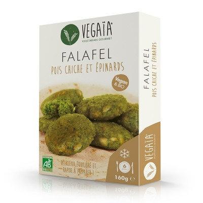 Frozen Chickpea & Spinach Falafel 160g
