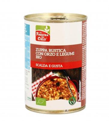 Barley & Beans Soup 400g La Finestra Sul Cielo