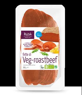 Vegaffettato Veg-Roastbeef 90g Biolab