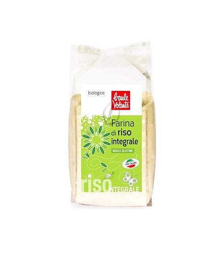 Wholemeal Rice Flour 375g Baule Volante