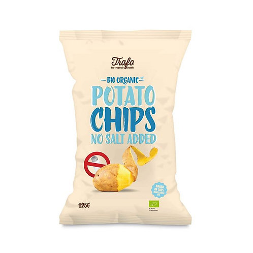 Potato Chips with No Salt Added 125g
