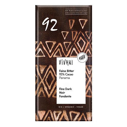 92% Dark Chocolate 100g