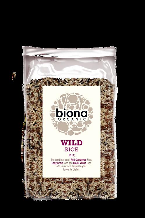 Wild Rice Mix 500g Biona