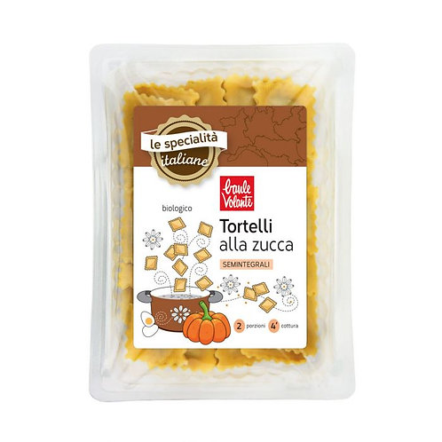 Durum Wheat Tortelli with Pumpkin Filling 250g