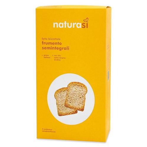 Semi-Wholemeal Wheat Rusks 400g NaturaSi