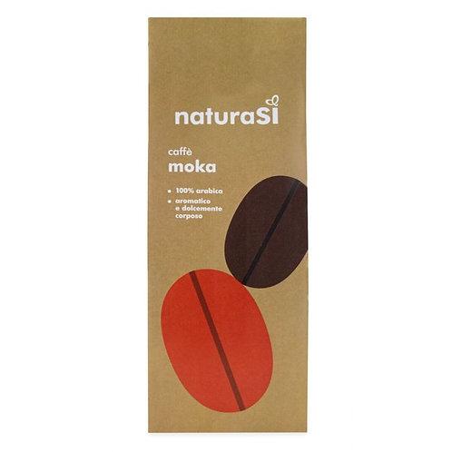 Roasted & Ground Arabica Coffee for Moka 250g NaturaSi