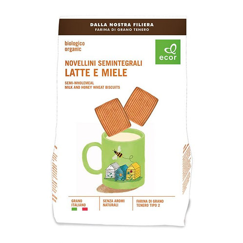 Semi-Wholemeal Milk & Honey Wheat Biscuits 350g