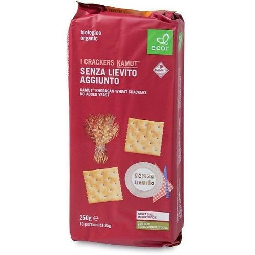Kamut Khorasan Wheat Crackers With No Added Yeast 250g