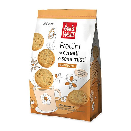 Semi-Wholemeal Wheat Biscuits with Cereals & Seeds 300g
