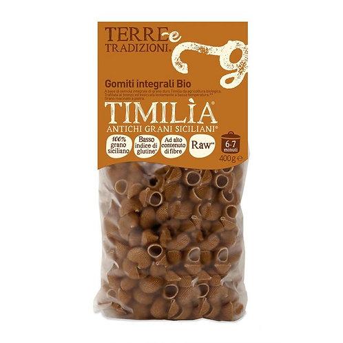 Wholewheat Timilia Gomiti 400g Terre e Tradizioni