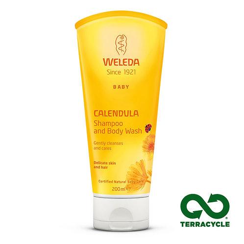 Calendula Baby Shampoo & Body Wash 200ml