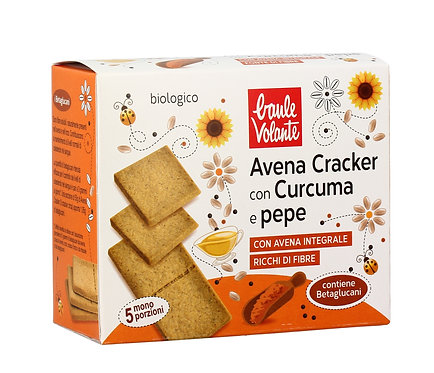 Oat Crackers with Turmeric & Peppers 250g