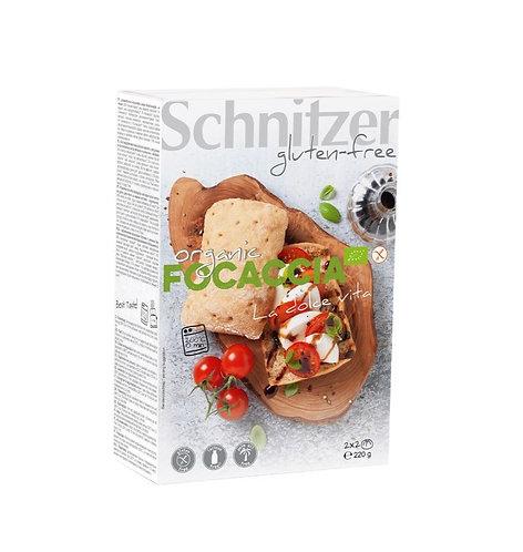 Gluten-Free Corn Focaccia with Herbs 220g Schnitzer