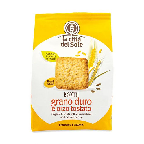 Durum Wheat Biscuits with Roasted Barley 300g