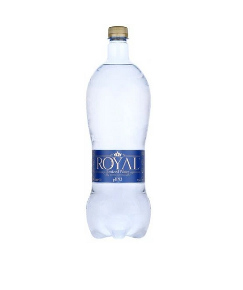 Ionized water pH 9.3 1.5L Royal Water