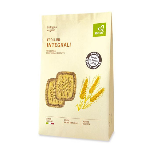 Wholemeal Shortbread Biscuits 350g Ecor