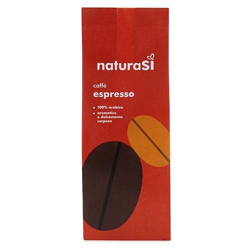 Roasted & Ground Arabica Coffee for Espresso 250g NaturaSi