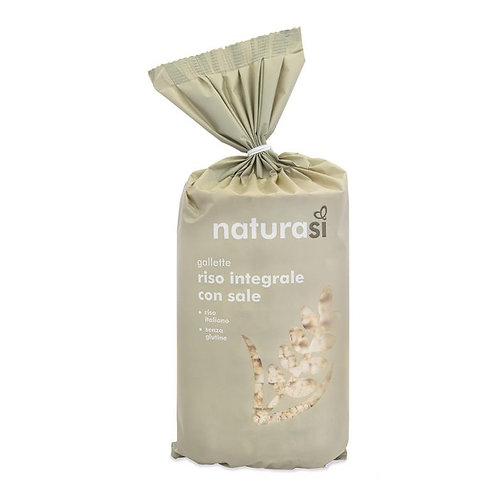 Wholemeal Rice Cakes 100g NaturaSi
