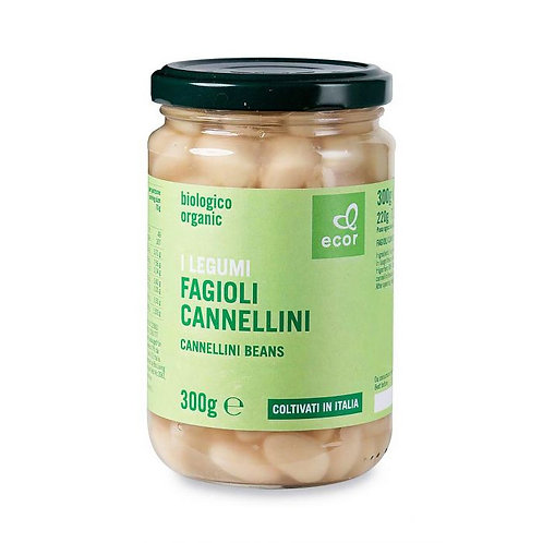 Cannellini Beans in Brine 300g Ecor