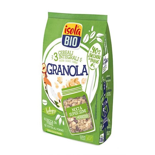 3 Cereal Granola with Nuts, Seeds & Coconut 350g