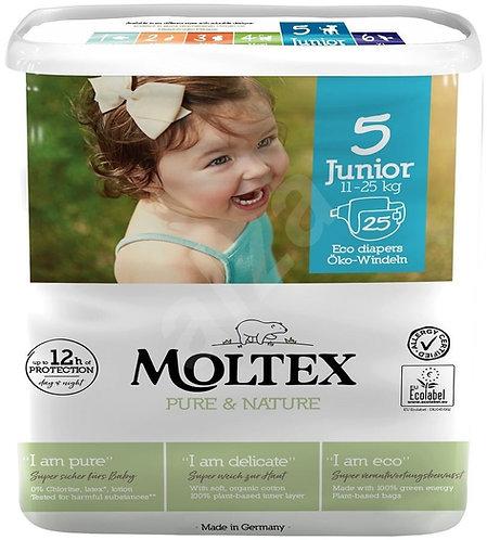 Nappies Junior No.5 11-25Kg x25 Moltex