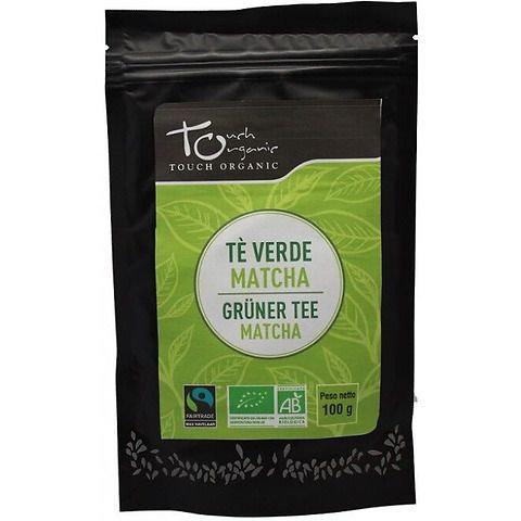 Matcha Green Tea Powder 100g Touch Organic