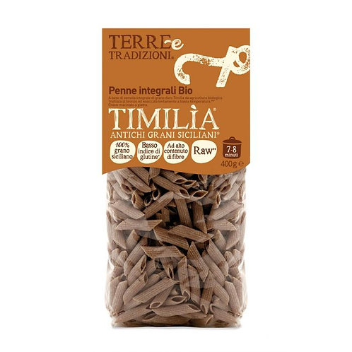 Wholewheat Timilia Penne 400g Terre e Tradizioni