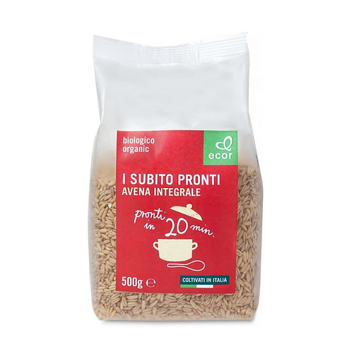 Precooked Wholemeal Oat 500g Ecor