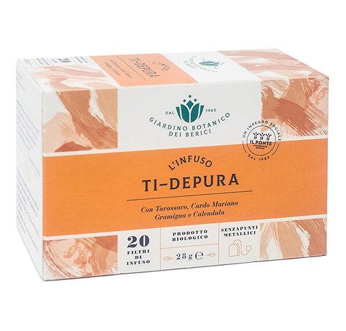 "Infusion of ""Ti-Depura"" Tea in Filters 28g Berici-Infusi"