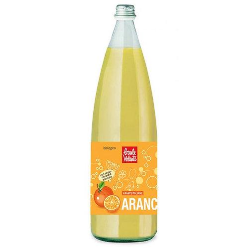 Orangeade Sparkling Soft Drink 1ltr Baule Volante