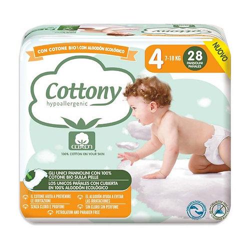 Cotton Diapers No.4 7-18kg x28