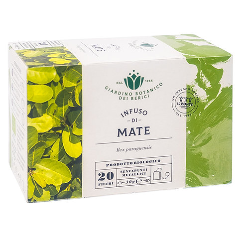 Infusion of Mate Tea in Filters 30g Berici-Infusi