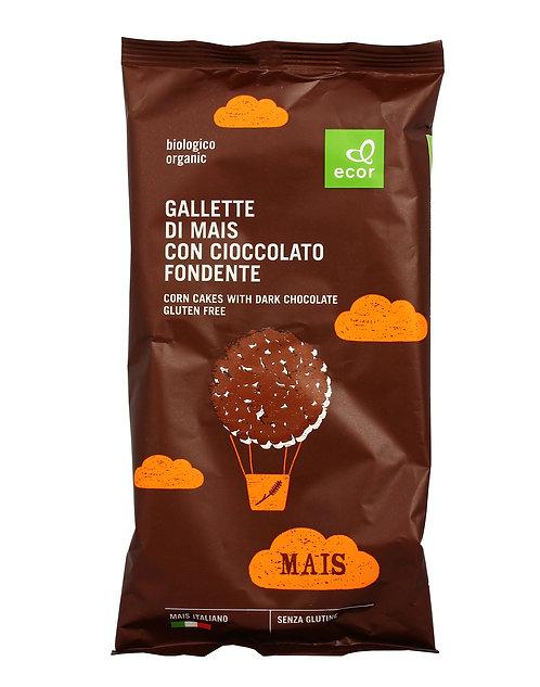 Gluten-Free Corn Cakes with Dark Chocolate 95g